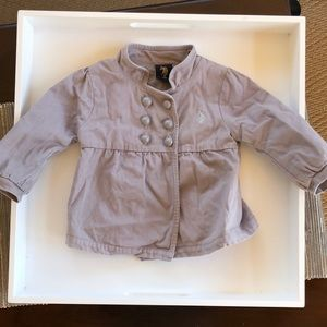 Other - U.S polo assn toddler girl coat 18 months